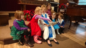 storytime in church